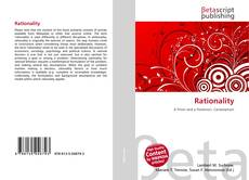 Bookcover of Rationality
