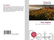Bookcover of Tala, Paphos