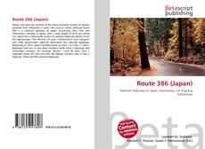 Capa do livro de Route 386 (Japan)
