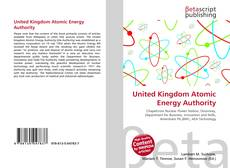 Borítókép a  United Kingdom Atomic Energy Authority - hoz