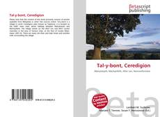Bookcover of Tal-y-bont, Ceredigion