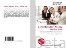 Bookcover of United Kingdom Agency Worker Law
