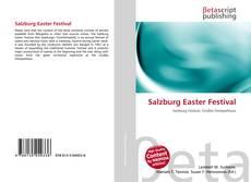 Portada del libro de Salzburg Easter Festival