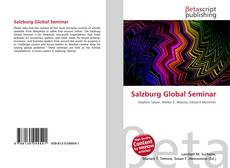 Bookcover of Salzburg Global Seminar