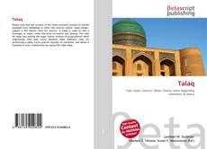 Bookcover of Talaq