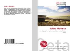 Couverture de Talara Province