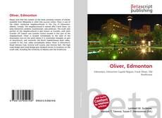 Bookcover of Oliver, Edmonton