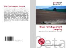 Oliver Farm Equipment Company kitap kapağı