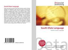 Обложка South Efate Language