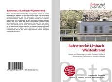 Buchcover von Bahnstrecke Limbach-Wüstenbrand