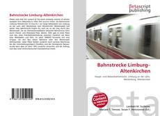 Capa do livro de Bahnstrecke Limburg–Altenkirchen