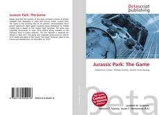 Copertina di Jurassic Park: The Game