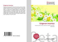 Couverture de Erigeron Incertus