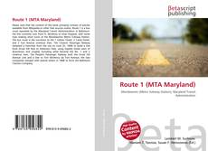 Обложка Route 1 (MTA Maryland)
