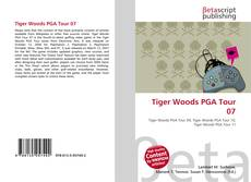 Bookcover of Tiger Woods PGA Tour 07