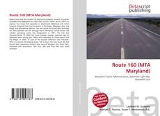 Buchcover von Route 160 (MTA Maryland)