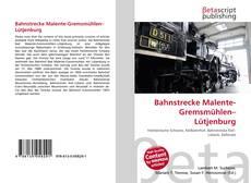 Bookcover of Bahnstrecke Malente-Gremsmühlen–Lütjenburg