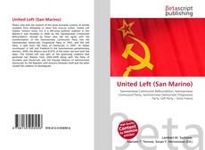 Capa do livro de United Left (San Marino)
