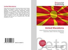 Bookcover of United Macedonia