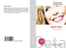 Bookcover of Nasal Voice
