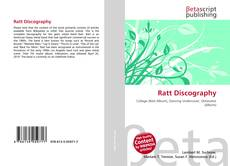 Bookcover of Ratt Discography