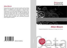Portada del libro de Allan Bloom