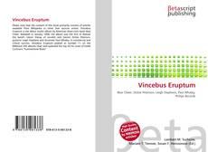 Vincebus Eruptum kitap kapağı