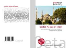 Bookcover of United Nation of Islam