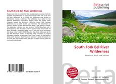 South Fork Eel River Wilderness kitap kapağı