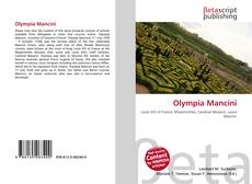 Bookcover of Olympia Mancini
