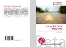 Capa do livro de Route 907 (MTA Maryland)