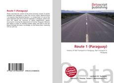 Обложка Route 1 (Paraguay)