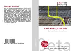 Обложка Sam Baker (Halfback)