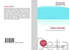 Bookcover of Libero Grande