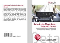 Обложка Bahnstrecke Meyenburg–Neustadt (Dosse)