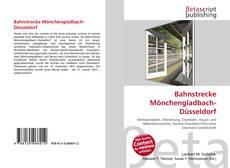 Buchcover von Bahnstrecke Mönchengladbach-Düsseldorf