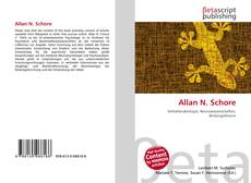 Bookcover of Allan N. Schore
