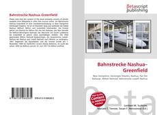 Bookcover of Bahnstrecke Nashua–Greenfield