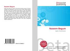 Bookcover of Naseem Begum