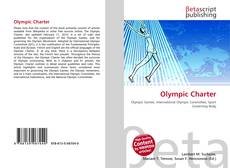 Bookcover of Olympic Charter