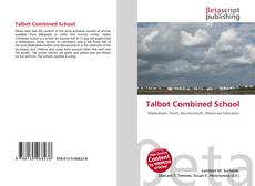 Обложка Talbot Combined School