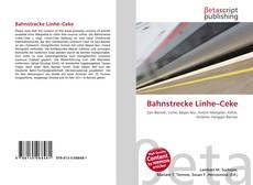 Buchcover von Bahnstrecke Linhe–Ceke