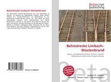 Buchcover von Bahnstrecke Limbach–Wüstenbrand