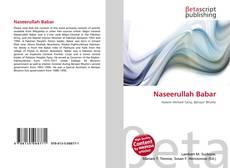 Portada del libro de Naseerullah Babar