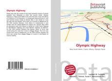 Обложка Olympic Highway