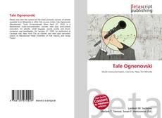Capa do livro de Tale Ognenovski