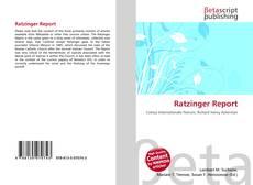 Buchcover von Ratzinger Report