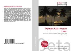 Portada del libro de Olympic Class Ocean Liner