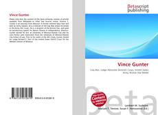 Bookcover of Vince Gunter