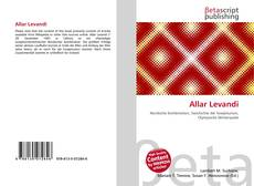 Bookcover of Allar Levandi